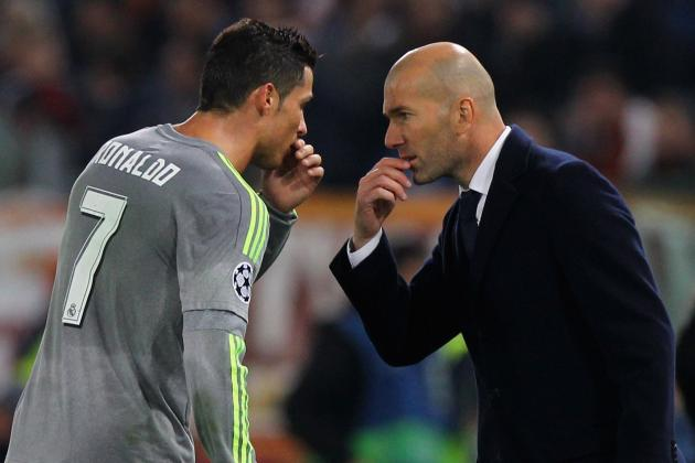 Zinedine Zidane Comments on Cristiano Ronaldo's 4-Goal Performance