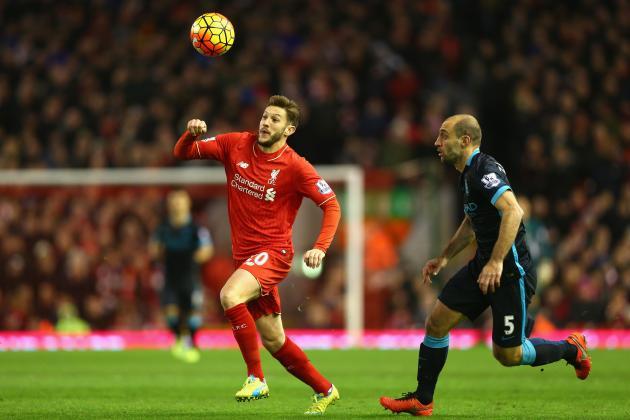 Liverpool Transfer News: Adam Lallana Warning Issued, New Hatem Ben Arfa Rumours
