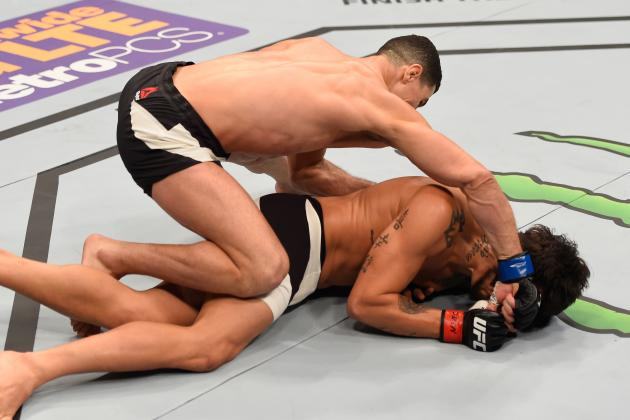 Watch UFC 196 Fighter Cheap-Shot Opponent, Then Get Brutally Knocked Out