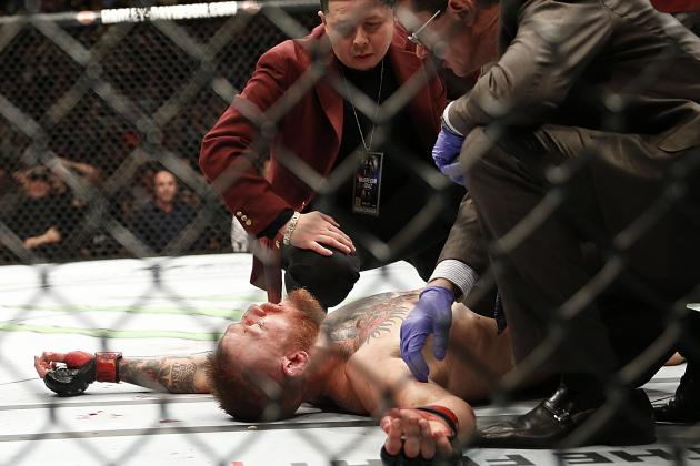 Twitter Reacts to Conor McGregor's Submission Loss to Nate Diaz at UFC 196