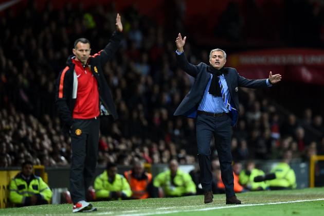 Jose Mourinho Reportedly Expects Ryan Giggs to Be Next Manchester United Manager