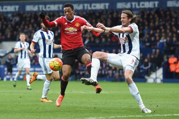 West Brom vs. Manchester United: Live Score, Highlights from Premier League