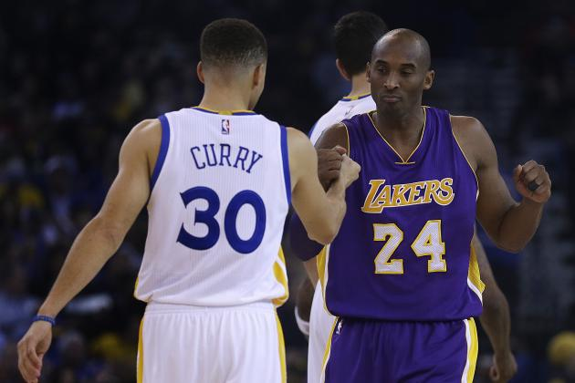Stephen Curry Comments on Possibility of Topping Kobe Bryant's 81-Point Game