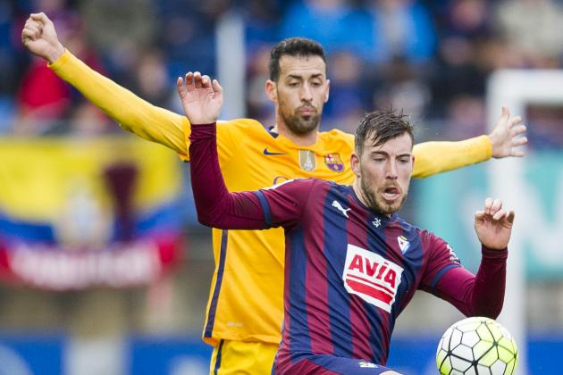 Sergio Busquets Paints Barcelona Masterpiece in Picturesque Eibar