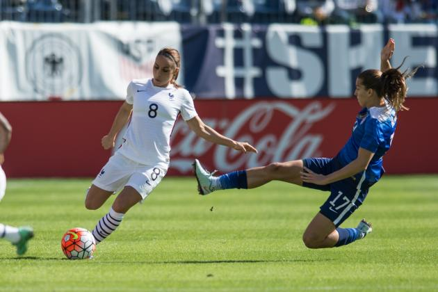 USA vs. France Women's Soccer: Score, Twitter Reaction for SheBelieves Cup 2016