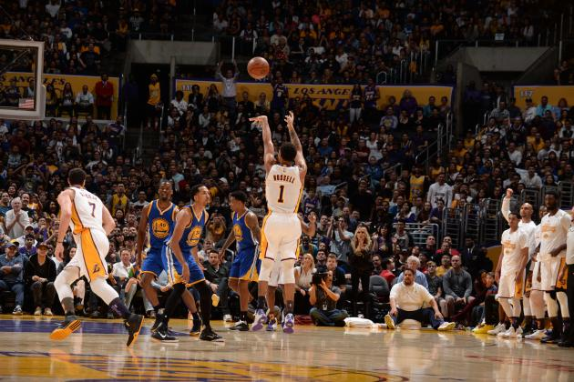 D'Angelo Russell, Jordan Clarkson's Brilliance vs. Warriors Gives Lakers Hope