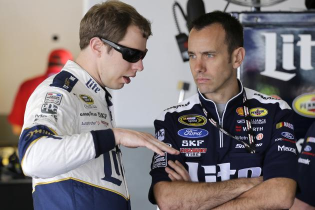 Windy Conditions, New Rules Package the Talk of Brad Keselowski's Kobalt 400 Win
