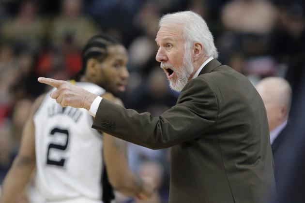 Gregg Popovich to Miss Spurs' Next 2 Games for Family Medical Situation