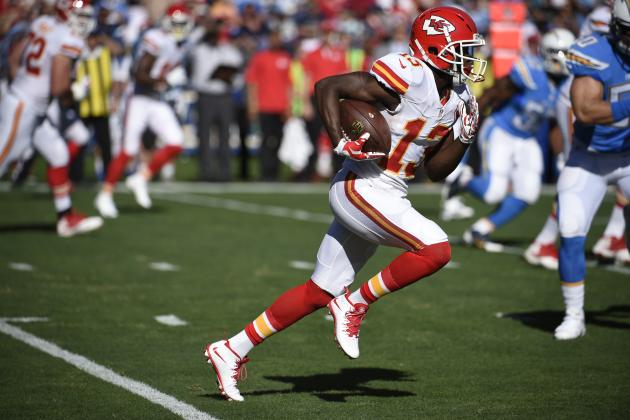 De'Anthony Thomas Trade Rumors: Latest News, Speculation on Chiefs WR