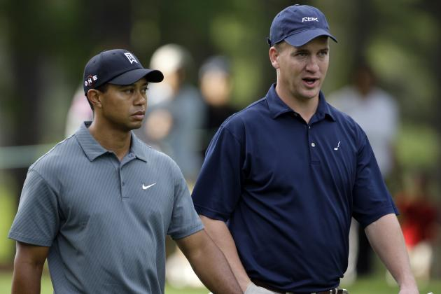 Tiger Woods Comments on Peyton Manning's Retirement