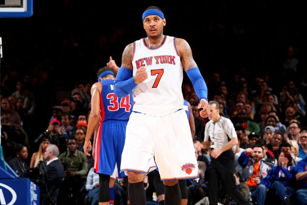 Carmelo Anthony Comments on Rajon Rondo, Recruiting in Free Agency