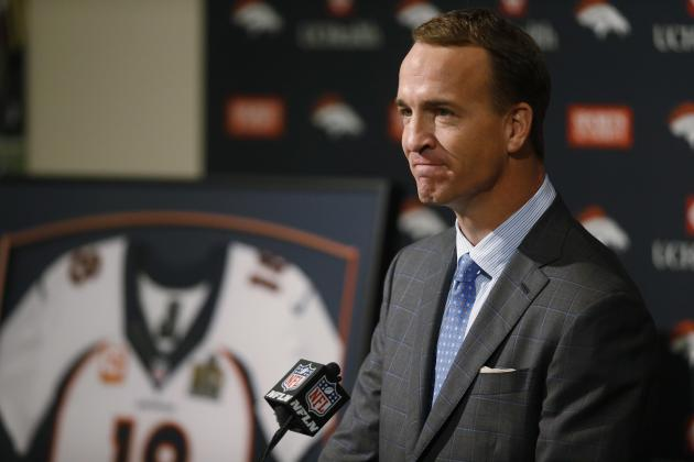 Peyton Manning Reportedly Drawing Interest from Multiple TV Networks