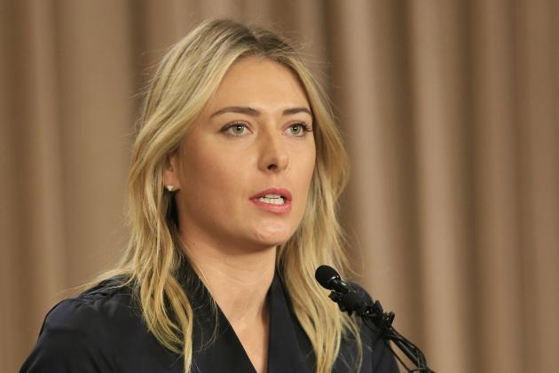 Maria Sharapova's Sponsors Declare Their Position Following Positive Drug Test