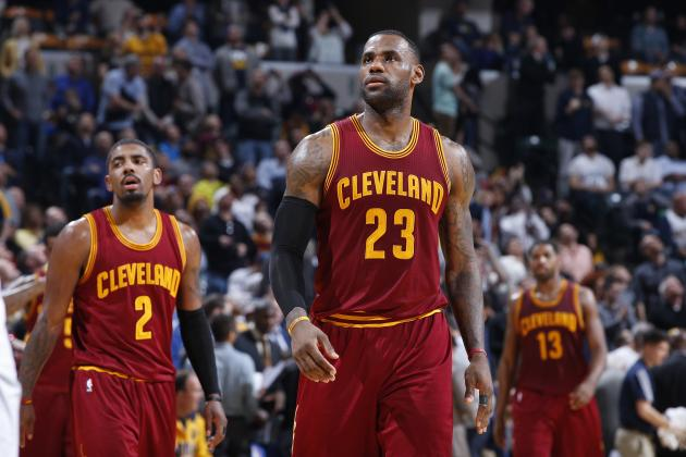 LeBron James, Kyrie Irving Reportedly Have Issues with On-Court Chemistry