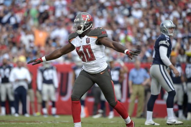 Bruce Carter Released by Buccaneers: Latest Details, Comments, Reaction