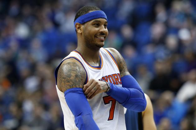 Carmelo Anthony Comments on Possibility of Playing for Team USA at Rio Olympics