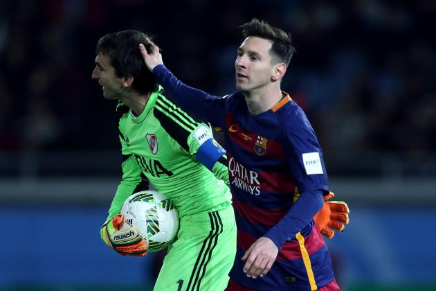 Barcelona's Leo Messi Gave His Own Boots to River Plate GK to Pass on to His Son