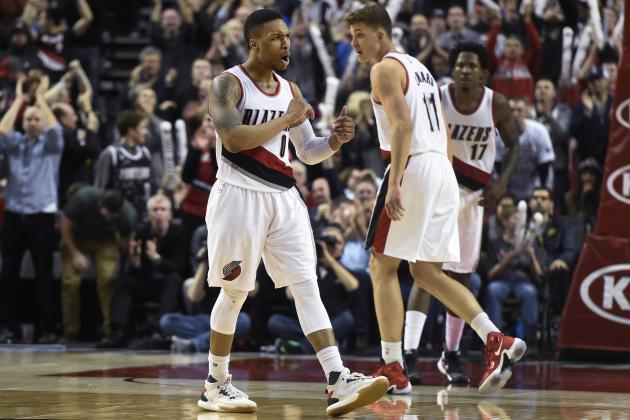 Lillard Reaches 1,500 Points and 400 Assists for 4th Time in 4 Years