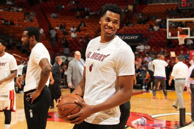 Hassan Whiteside Saving Heat's Season in Wake of Chris Bosh's Health Scare