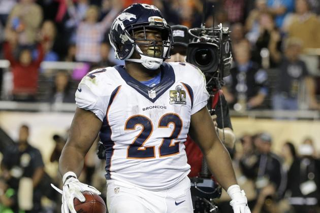 C.J. Anderson to Remain with Broncos After Denver Matches Offer Sheet
