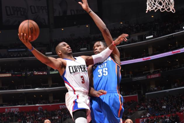 Los Angeles Clippers vs. Oklahoma City Thunder: Live Score, Highlights, Reaction