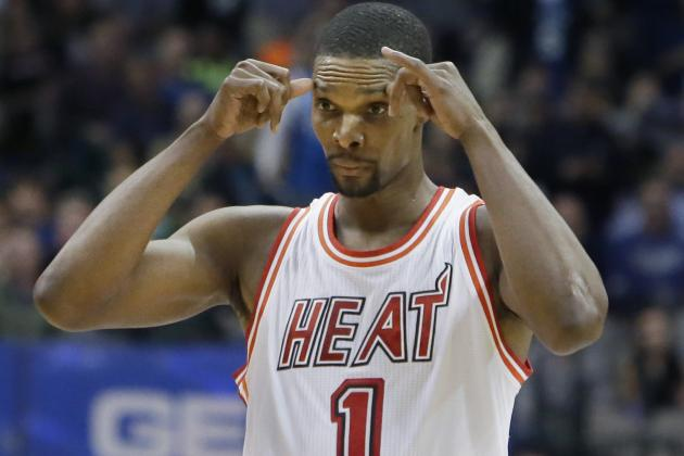 Chris Bosh Reveals No Active Blood Clots, Hopeful to Return to Heat