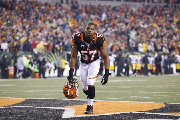 Vincent Rey Re-Signs with Bengals: Latest Contract Details, Comments, Reaction