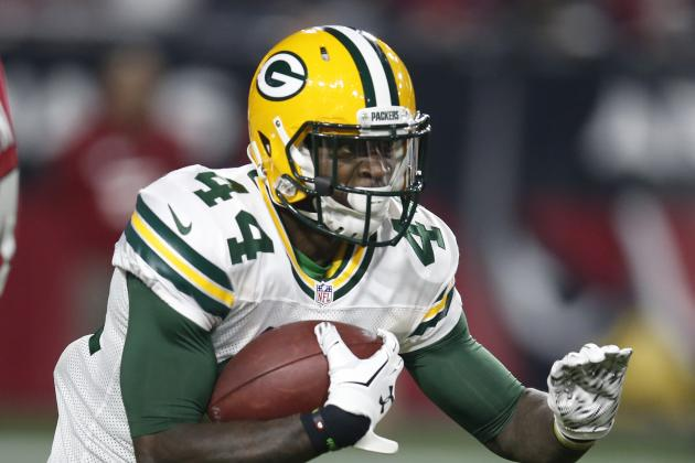 James Starks Reportedly Re-Signs with Green Bay Packers