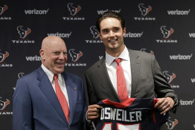 Brock Osweiler to Texans: Takeaways from QB's Introductory Press Conference