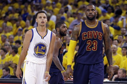 LeBron James Comments on Criticism of Stephen Curry, More