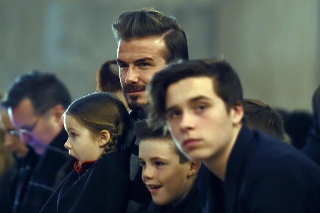 David Beckham and Chelsea Vice-President Joe Hemani in Reported PSG Dispute