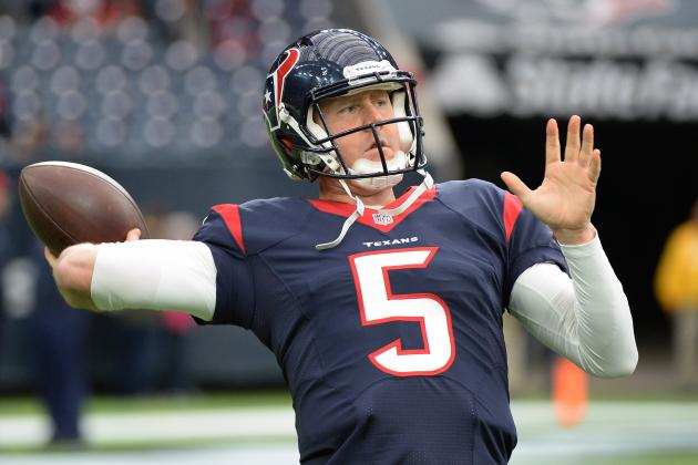 Brandon Weeden Reportedly Re-Signs with Houston Texans