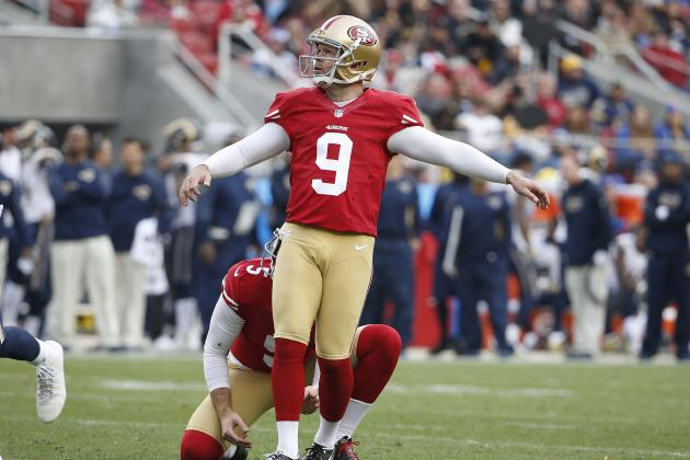 Phil Dawson Re-Signs with 49ers: Latest Contract Details, Comments, Reaction