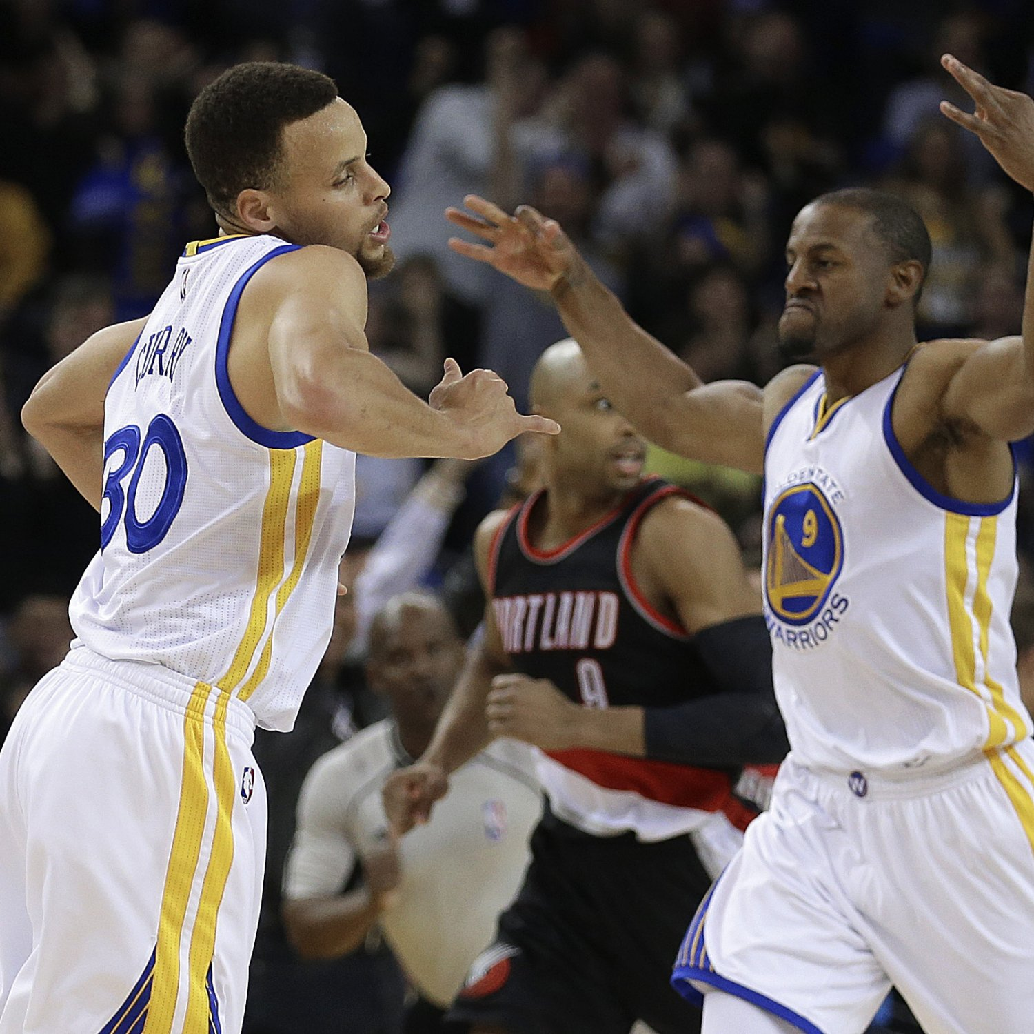 Warriors Movie Clips: Trail Blazers Vs. Warriors: Score, Video Highlights And