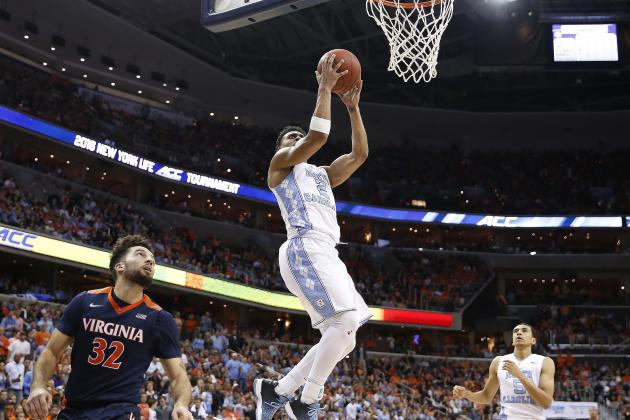 Virginia vs. UNC: Live Score and Highlights for 2016 ACC Championship