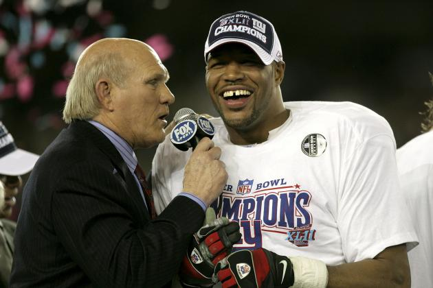 Michael Strahan Allegedly Given Fake Jersey by Giants After Super Bowl 42 Win