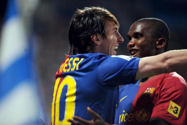 Samuel Eto'o: I Didn't Play with Lionel Messi, He Played with Me