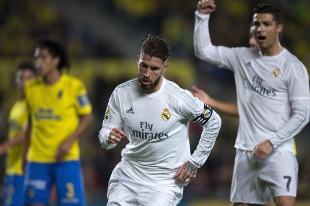 Las Palmas vs. Real Madrid: Live Score, Highlights from La Liga