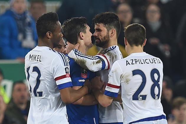 Diego Costa Charged with Improper Conduct vs. Everton: Latest Details, Comments