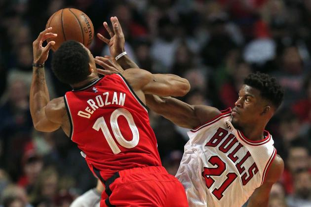 Chicago Bulls vs. Toronto Raptors: Live Score, Highlights and Reaction