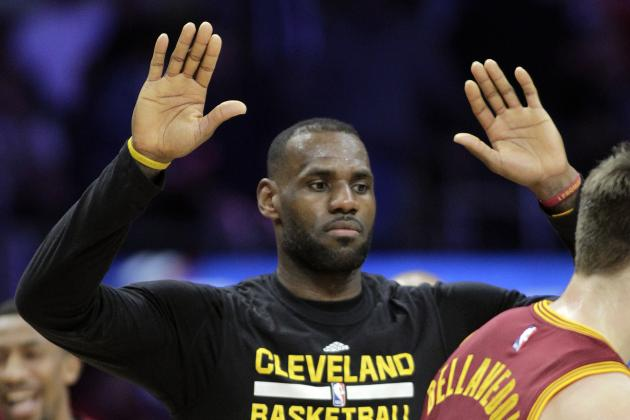 LeBron James Asked Cavaliers Not to Party During LA Road Trip