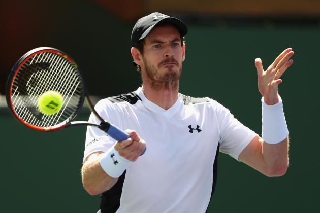 Andy Murray vs. Federico Delbonis: Score, Reaction from 2016 Indian Wells