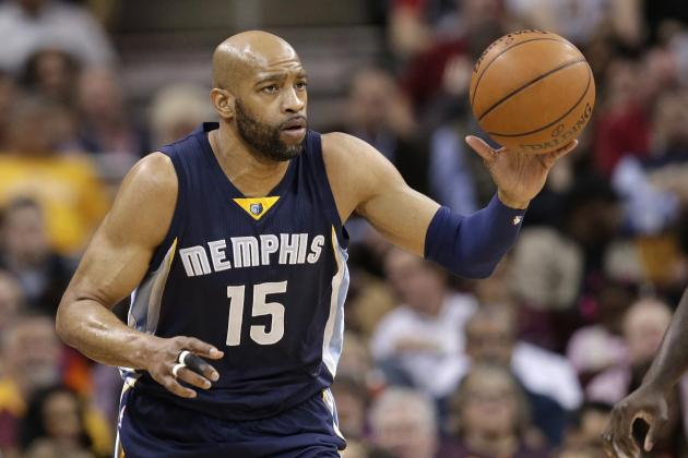 Vince Carter Injury: Updates on Grizzlies Forward's Calf and Return