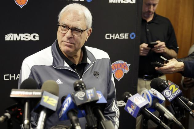 Phil Jackson Reportedly May Offer to Coach Knicks at Home in 2016-17