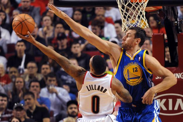 Andrew Bogut Comments on Andre Iguodala's Injury Suffered vs. Blazers