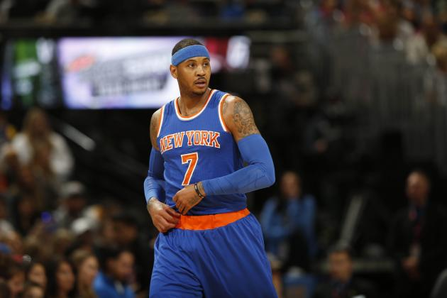 Carmelo Anthony Comments on Phil Jackson Potentially Coaching Knicks Home Games