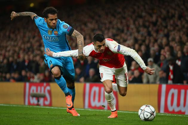 Dani Alves Comments on Arsenal's Lack of Character, Lionel Messi, Neymar, More