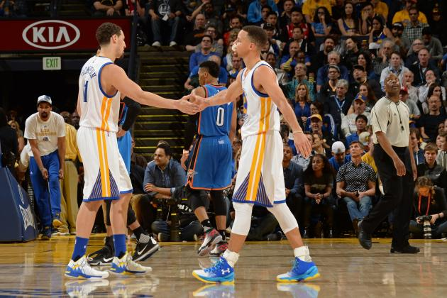 Splash Brothers Set New Record for 3s Made by Teammates in 1 Season
