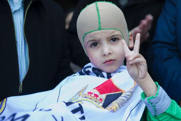 5-Year-Old Boy Who Lost Family in Attacks in Palestine to Meet Real Madrid Idols