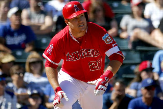 Mike Trout Comments on Bat Flips After Bryce Harper, Goose Gossage Remarks